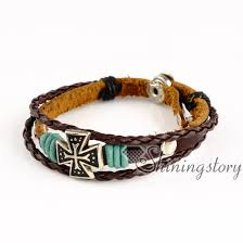 cross bracelet mens images Cross wholesale leather bracelets leather bracelets for women jpg