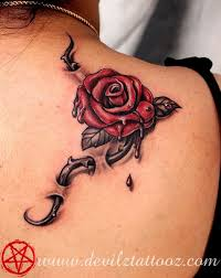 best 25 thorn tattoo ideas on pinterest rose thorn tattoo