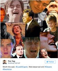Leonardo Meme - leonardo dicaprio oscar memes the internet explodes after his