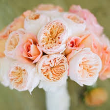Peach Roses 15 Pretty Peach Bouquets Brides