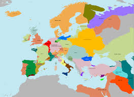 Map Of European Countries Map Of Europe In The 1400s Thefreebiedepot