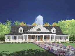 single story farmhouse home plan homepw20813 3388 square foot 4 bedroom 4 bathroom