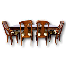 mahogany dining table american drew mahogany dining table w 6 chairs upscale consignment