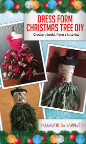 128 best decorated dress form christmas trees images on pinterest