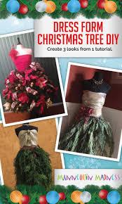 51 best christmas dress form images on pinterest christmas tree