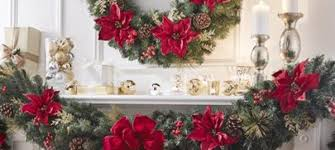 wreaths and garland at the home depot