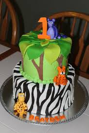 cake flair jungle cake