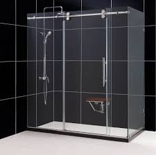 dreamline enigma 36 by 60 1 2 fully frameless sliding shower
