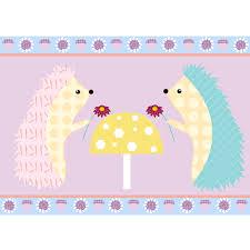 fox hedgehog owl and tree wallpaper u0026 border colour ways