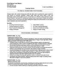network technician resume sample navy nuclear engineer sample