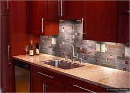 Best Slate Kitchen Backsplash Tiles Images On Pinterest - Slate kitchen backsplash