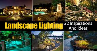 Outdoor Backyard Lighting Ideas 22 Outdoor Lighting Ideas For The Landscape