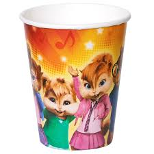 alvin and the chipmunks alvin and the chipmunks 9 oz paper cups 8 list price 11 90