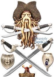 Davy Jones Halloween Costume Davy Jones Pirates Caribbean Wall Plaque Swords