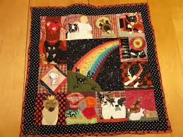 hand crafted pet memorial quilt multiple animal large beloved