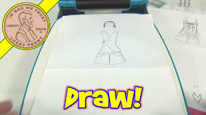 project runway fashion design projector set drawing toy fashion