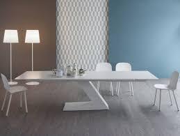 modern dining room furniture extending dining table bonaldo tl
