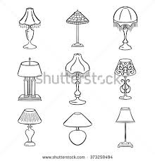 Table Lamps Without Shades Lampshade Stock Images Royalty Free Images U0026 Vectors Shutterstock