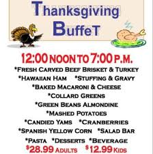 thanksgiving buffet at prospector s steakhouse saloon best of