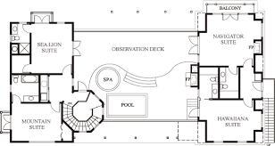 Second Floor Plans Santa Barbara Beach Club Floor Plan A Luxury Vacation Rental