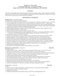 Job Description Of Hostess For Resume Russell D Willard 2015 Resume Management Pricing And Valuation