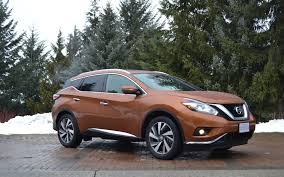 nissan murano vs hyundai santa fe 2015 nissan murano reaching for the top review the car guide