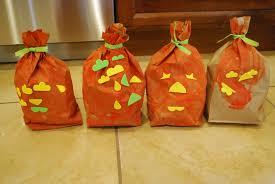 halloween decorations for pumpkins halloween crafts paper bag pumpkins mess for less