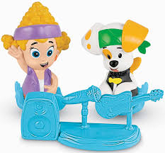 amazon com fisher price nickelodeon bubble guppies deema and