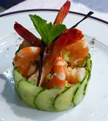 prawn tabuleh salad seni pinterest salad food and food plating