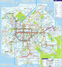 Tokyo Subway Map by Subway Map Brussels My Blog