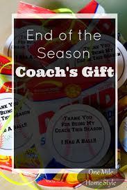 end of the baseball season coach u0027s gift