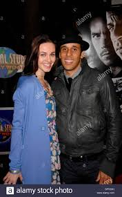 fiona manners and wilmer calderon during the premiere of the new