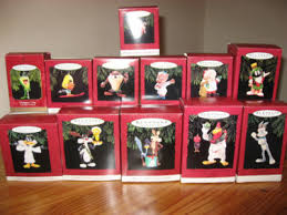 lot of 12 looney tunes hallmark keepsake ornaments antique