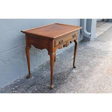 Antique Accent Table Antique Carved Queen Anne Accent Table Petite Writing Desk Chairish