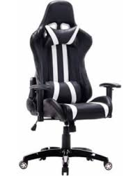reclining gaming desk chair spectacular deal on goplus executive racing style high back