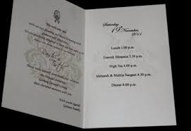 how to choose wordings from indian wedding cards sles indian