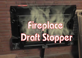Air Tight Fireplace Doors by Fireplace Draft Stopper Cheap Diy Youtube