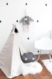 zelt kinderzimmer schönes gemütliches zelt für ein skandinavisches kinderzimmer