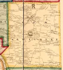 Independence Ohio Map by Ancestor Tracks Beaver County