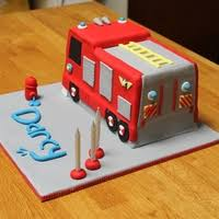 fire engine cake inspired by fireman sam cake gallery on cake