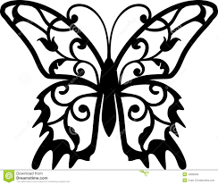 butterfly design element stock vector illustration of symbol