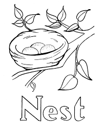 free letter n coloring pages letter n coloring book letter n
