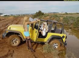 muddy jeep girls pics max 12110 277518 jeep girls got stuck on a muddy path the