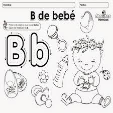 imagenes q inicien con la letra u la letra b para colorear y delinear material para maestros