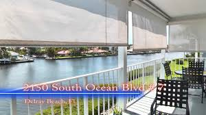 condo for sale 2150 south ocean blvd 7 delray beach fl youtube