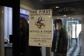 choc tattoo a thon at chapman u0027s studio pretoria