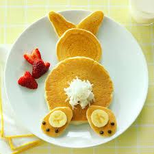halloween pancakes fluffy bunny pancakes recipe taste of home