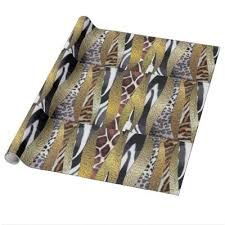 cheetah print wrapping paper abstract tiger print wrapping paper zazzle