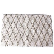 Silver Bathroom Rugs by Better Homes And Gardens Song Bird Tufted Bath Rug Walmart Com
