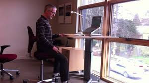 Adjustable Height Desk by Adjustable Height Desk Fully Formerly Ergo Depot Youtube